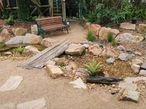 Upwey natural rock stream